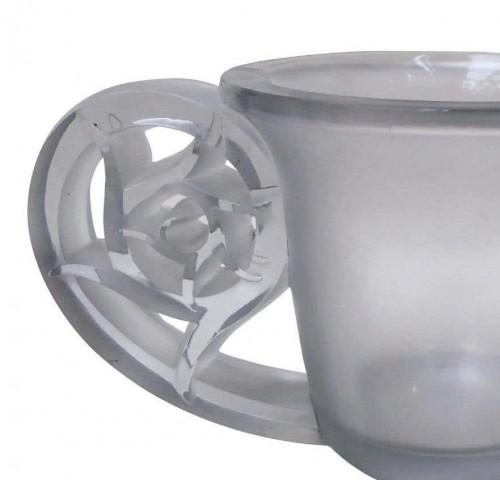 "René Lalique (1860-1945) - Vase model ""Pierrefonds"" - Glass & Crystal Style"