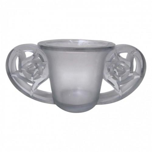 "Glass & Crystal  - René Lalique (1860-1945) - Vase model ""Pierrefonds"""