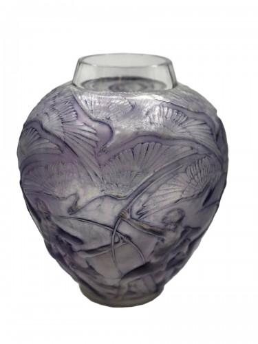 """R.lalique -  """"archer"""" vase"""