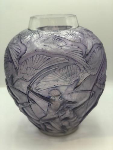 """R.lalique -  """"archer"""" vase -"""