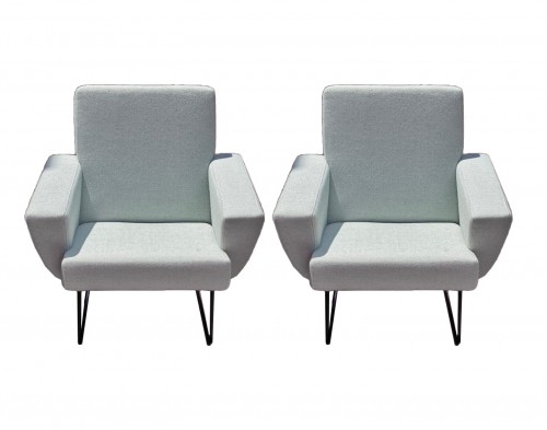 Pair of armchairs - Geneviève DANGLES and Christian DEFRANCE