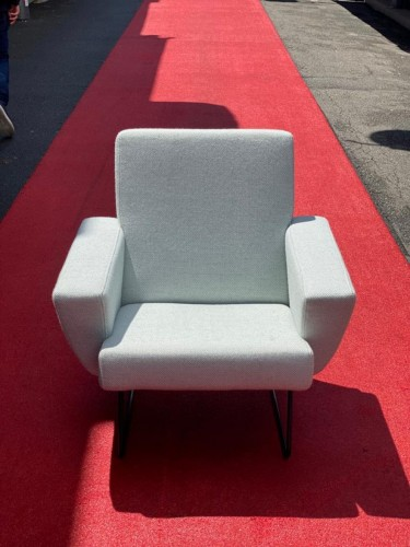 Pair of armchairs - Geneviève DANGLES and Christian DEFRANCE - Seating Style 50