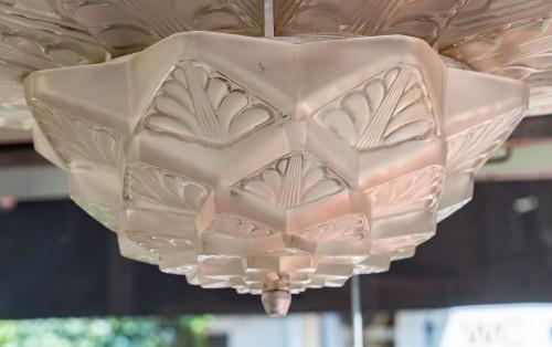 "René Lalique - Chandelier ""Stockholm""  - Lighting Style"