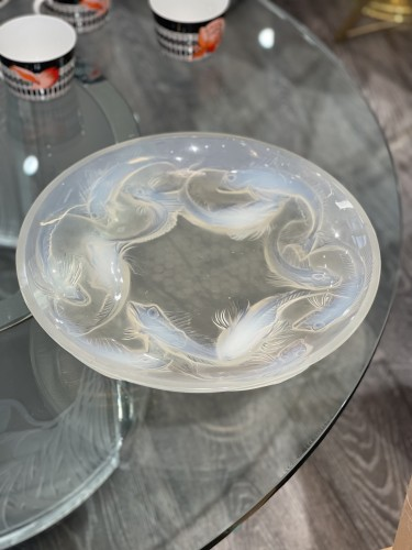 """Rene Lalique - Opalescent """" Martigues"""" Bowl - Glass & Crystal Style"""