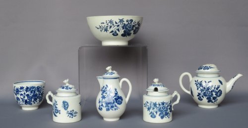 Caughley porcelain XVIIIth century