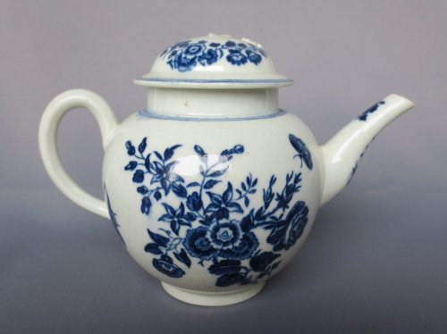 Porcelain & Faience  - Caughley porcelain XVIIIth century
