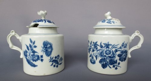 18th century - Caughley porcelain XVIIIth century