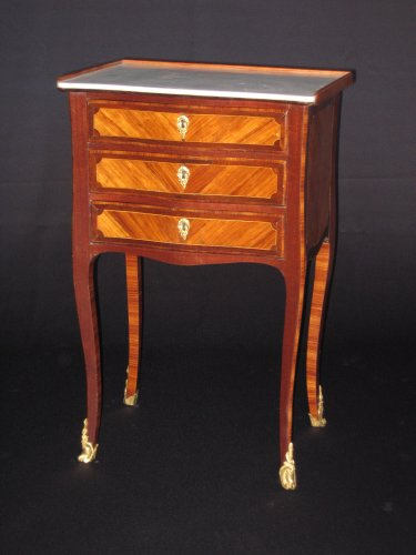Chiffonniere table of Louis XV period