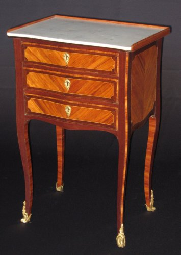Furniture  - Chiffonniere table of Louis XV period