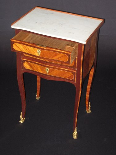Chiffonniere table of Louis XV period -