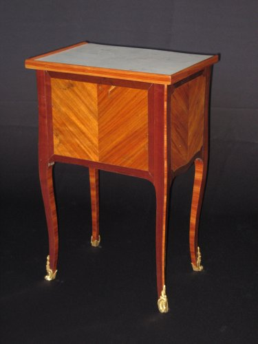 18th century - Chiffonniere table of Louis XV period