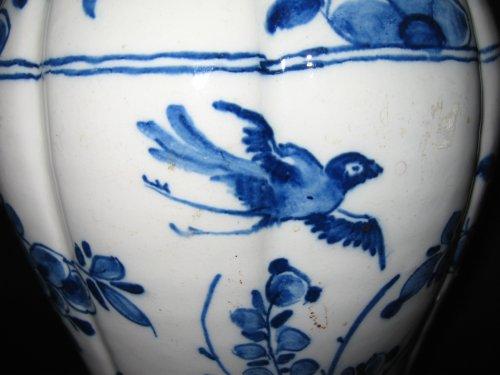 Delftware vases XVIIIth century -