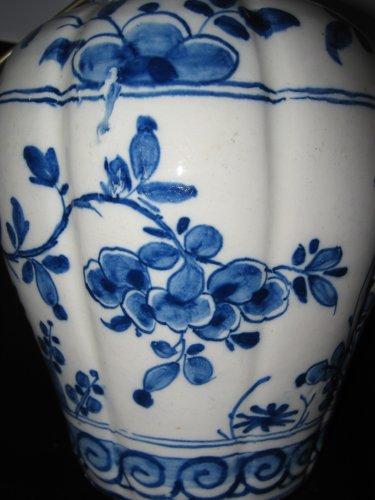 18th century - Delftware vases XVIIIth century