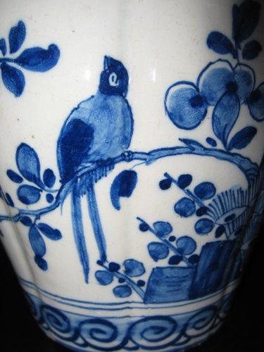 - Delftware vases XVIIIth century