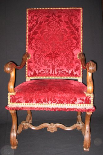 Seating  - French Pair of Louis XIV armchairs