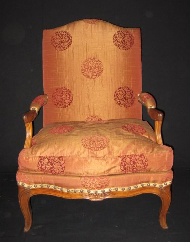 "Pair of armchairs so-called ""fireside - coin de feu"" Louis XV period -"