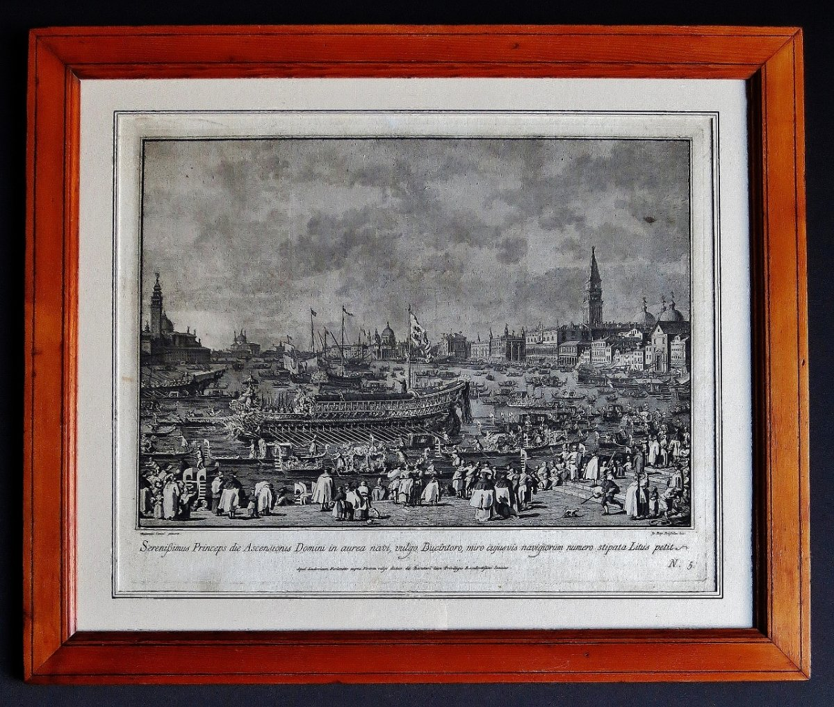 Le mariage avec la mer gravure d 39 apr s canaletto xviiie for Architecture 18e siecle france