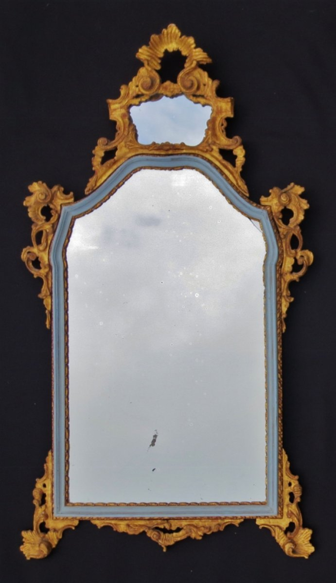 Miroir italien xviiie si cle for Miroir xviii