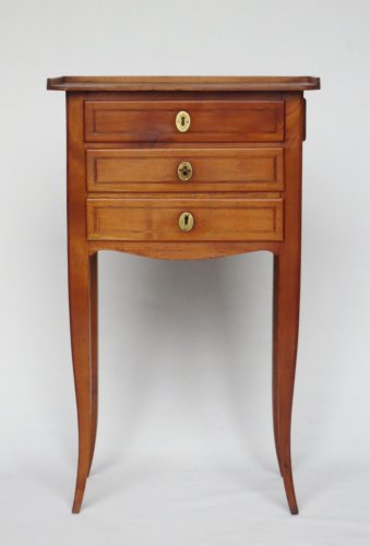 Commode chiffonnière, fin XVIIIe siècle