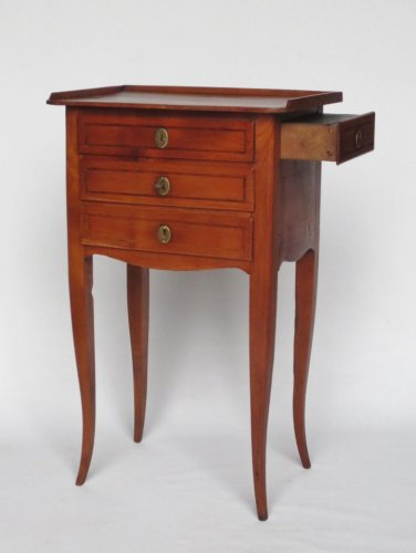 Commode chiffonnière, fin XVIIIe siècle -