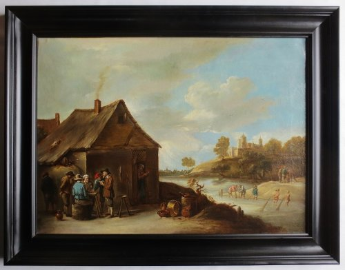 Flemish landscape - late 18th or early 19th century