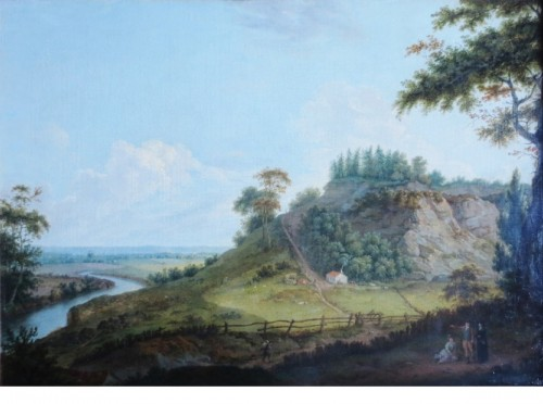 View of Donington Park - Theodore de Bruyn (1730-1804)