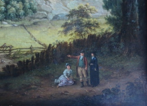 Paintings & Drawings  - View of Donington Park - Theodore de Bruyn (1730-1804)