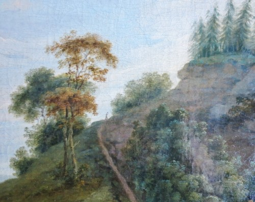 View of Donington Park - Theodore de Bruyn (1730-1804) -