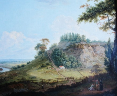 - View of Donington Park - Theodore de Bruyn (1730-1804)