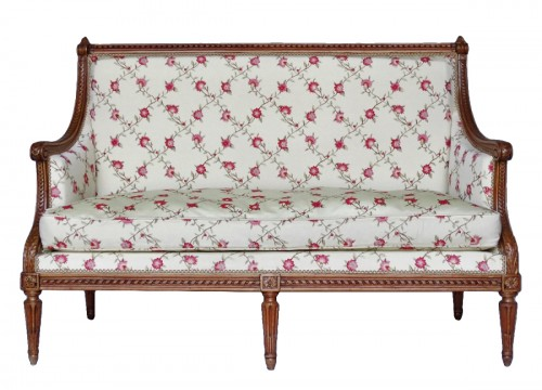 Louis XVI sofa stamped G. Jacob