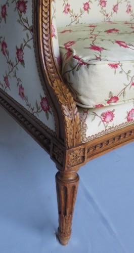 Louis XVI sofa stamped G. Jacob - Seating Style Louis XVI