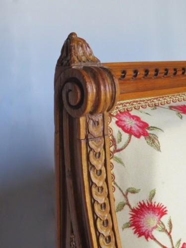 Seating  - Louis XVI sofa stamped G. Jacob