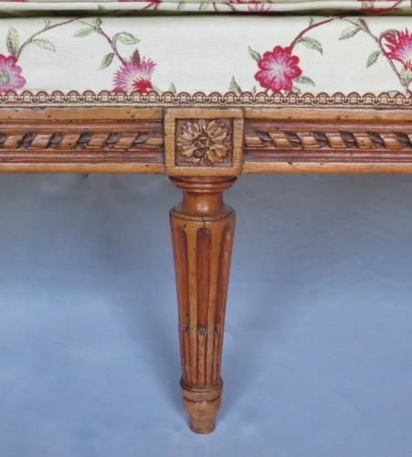 Louis XVI sofa stamped G. Jacob -