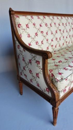 18th century - Louis XVI sofa stamped G. Jacob