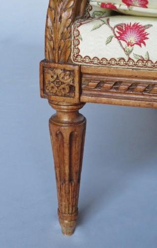 Antiquités - Louis XVI sofa stamped G. Jacob