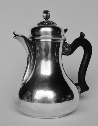 Marabout or coquemar jug, Lille 18th century - Antique Silver Style