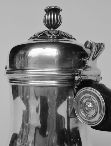Antique Silver  - Marabout or coquemar jug, Lille 18th century