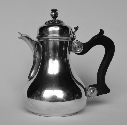 18th century - Marabout or coquemar jug, Lille 18th century