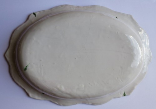 "Marseilles earthenware dish ""Veuve Perrin"" 18th century -"