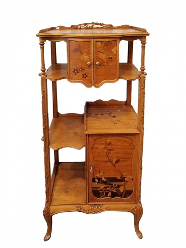 Louis Majorelle - Art Nouveau collector's cabinet
