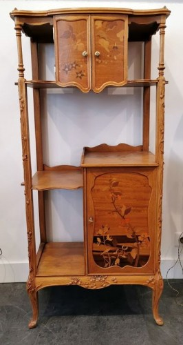 Louis Majorelle - Art Nouveau collector's cabinet - Furniture Style Art nouveau