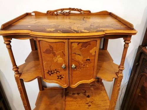 Louis Majorelle - Art Nouveau collector's cabinet -