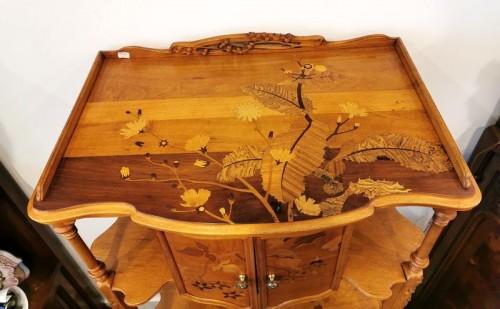20th century - Louis Majorelle - Art Nouveau collector's cabinet
