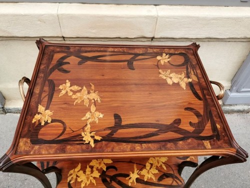 """Furniture  - Majorelle - """"Aux Orchidée"""" tea table"""
