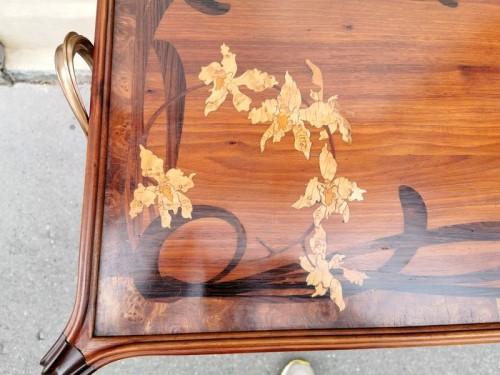 """Majorelle - """"Aux Orchidée"""" tea table -"""