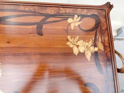 """20th century - Majorelle - """"Aux Orchidée"""" tea table"""