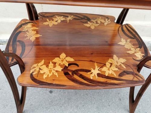 """Majorelle - """"Aux Orchidée"""" tea table - Art nouveau"""