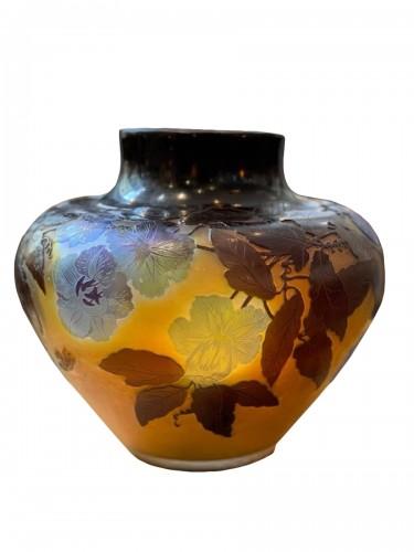 """Emile Gallé - """"Bignones"""" vase"""