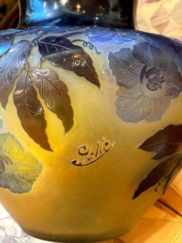 """20th century - Emile Gallé - """"Bignones"""" vase"""