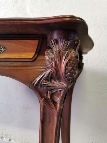 """Louis Majorelle - Tabl Desk """"Aux pins"""" -"""